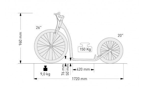 tretroller kostka tour max von maxiroller in esens. Black Bedroom Furniture Sets. Home Design Ideas